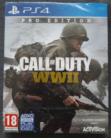 Call of Duty WWII, Pro Edition, season pack, ps4