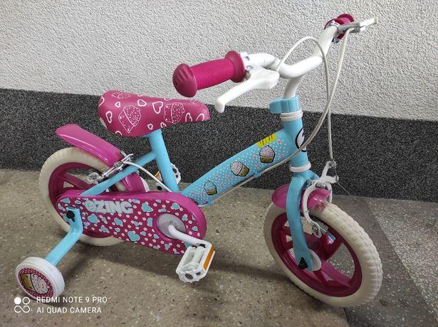 """Rower rowerek Babeczki 12"""" NOWY kółka boczne dziewczęcy"""