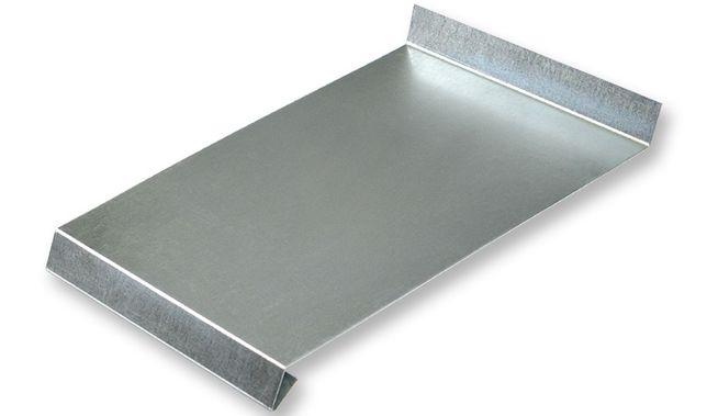 Отлив на подоконник оцинкованный 16х1м45 см