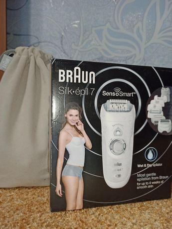 Эпилятор Braun Silk epil 7 Senso Smart