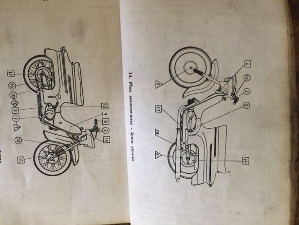 Jawa 50 Mustang i Kaczka instrukcja obsługi.