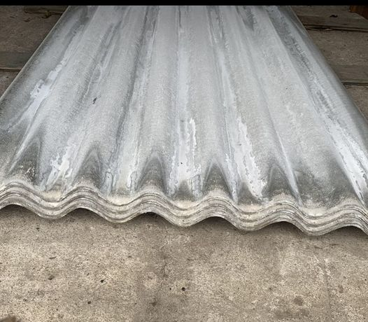 Шифер восьми волновой бу 175см на 113 см и 7 мм толщина листа