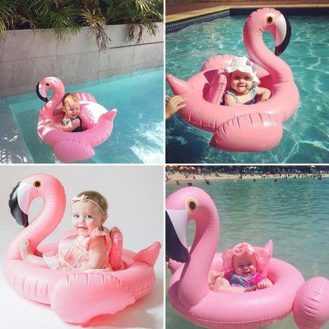 надувной сидячий круг Единорог Фламинго Лебедь Нарукавники