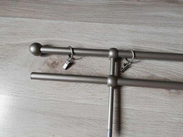 karnisz podwójny 200 cm