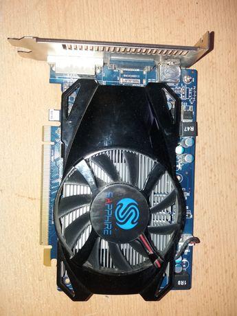 Karta Sapphire Radeon HD7750  1024MB DDR5/128bit DVI/HDMI/DP PCI-E
