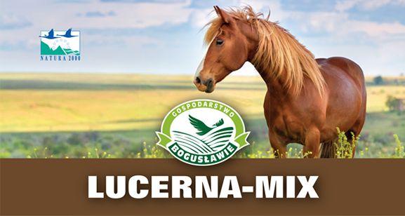 Lucerna-mix granulat 20kg Gospodarstwo Bogusławie