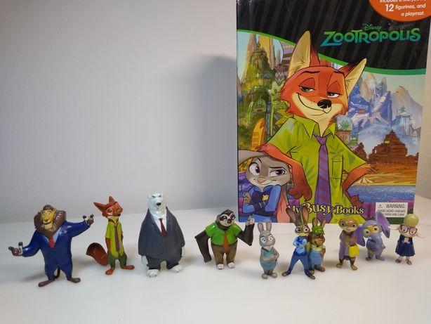 Zwierzogród - figurki + książka