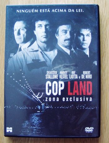 DVD - Cop Land - Zona Exclusiva - Stallone e De Niro