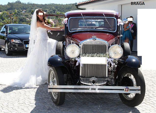 Carros Clássicos para Casamentos (ver fotos).Carro antigo casamentos