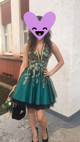 Випускне плаття коротке