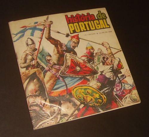 Caderneta HISTÓRIA de PORTUGAL (Anos 60)