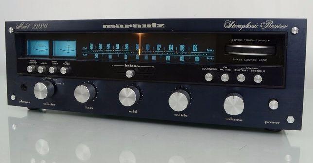 Amplituner Marantz 2226 Doskonały Stan Kapitalny Dzwięk Vintage