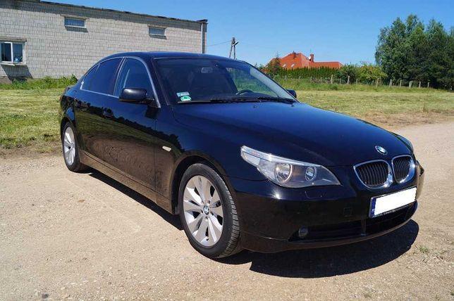 Niezawodne BMW E60 2.5+gaz I właściciel, możliwa zamiana