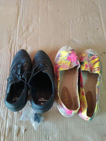 Sapatos semi-novos n38