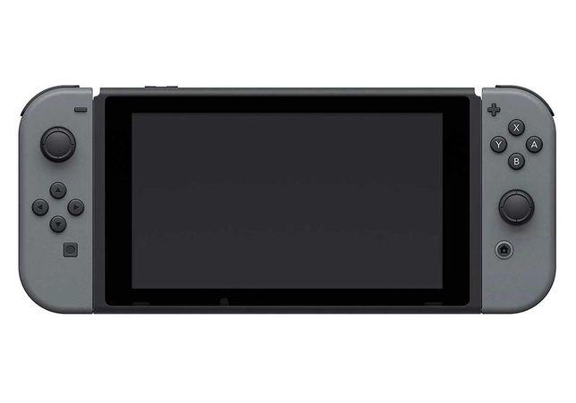 Nintendo Switch V1 cinza c/ jogo polemon go picachu