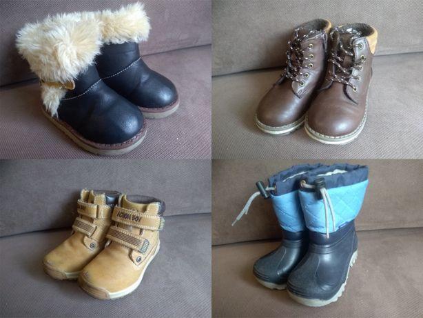 Buty dziecięce zimowe i letnie rozmiar 22,25,26,27,28