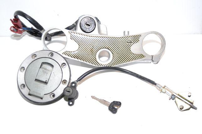 Yamaha yzf 1000 yzf1000 thunderace zamki stacyjka wlew klucz półka