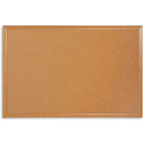 Tablica korkowa w drewnianej ramie 45x60 cm IDEALNE DO POKOJU DZIECKA