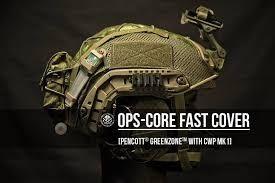 Dbr custom gear pokrowiec na ops core hełm kask kieszeń przeciwwaga