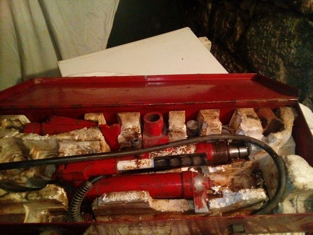 Kit Completo Esticador Hidraulico Automovel BlackHank
