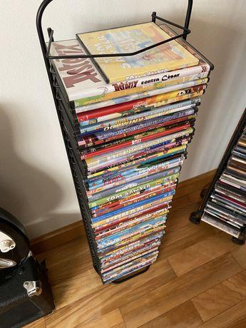 DVD de varios filmes de entertenimento