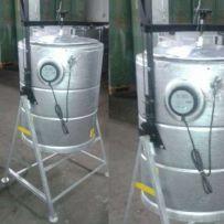 Parnik elektryczny ocynkowany Inofama, 160 L