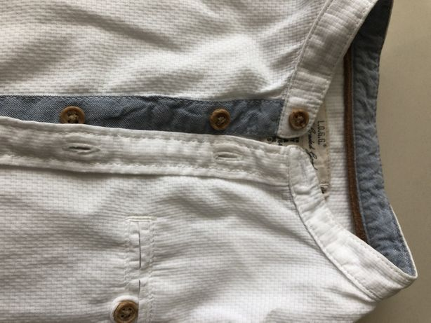 Koszula chlopieca ze stojka 128