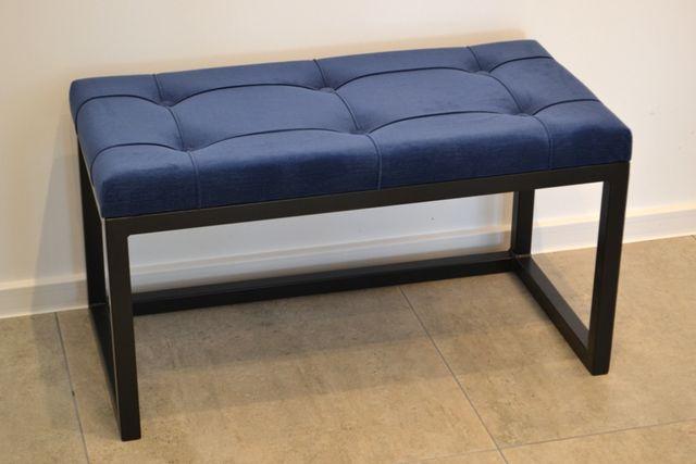 Ławeczka loft pufa nowoczesna pikowana siedzisko ławka LS001