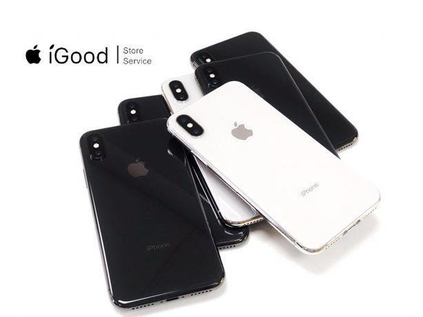 iPhone X silver/space 64/256gb. NEVERLOCK магазин iGood Луцьк,гарантія