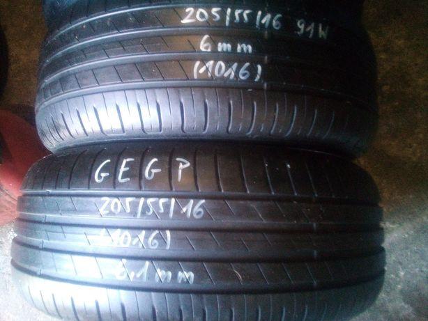 205/55/16 Goodyear efficient grip