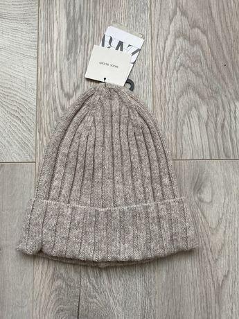Zara шапка шерсть нова