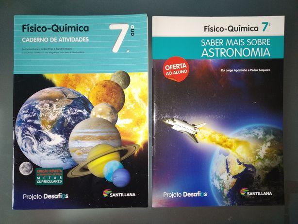 Caderno de Atividades 7° ano - Físico-Quimica - Santillana