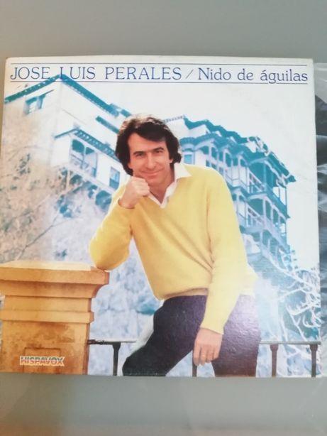 José Luis Perales / Nido de águilas - Vinil Musica Venezuelana