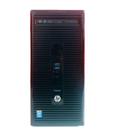 PC Trabalho HP Prodesk 400 G2 MT i5 4590S 4GB 500GB HDD Win10