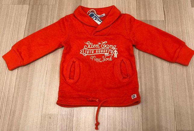Толстовка свитер street gang Италия 6мес 68см