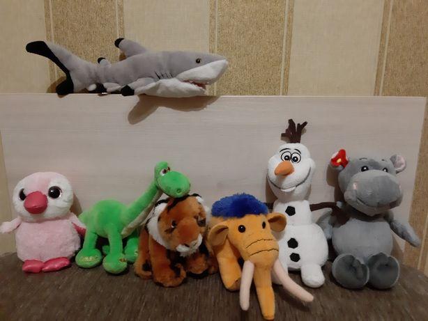 Мягкие игрушки(1+)