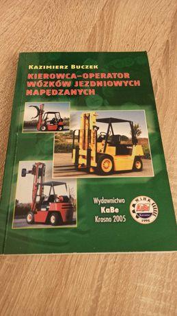 Książka Kierowca-operator wózków jezdniowych napędzanych
