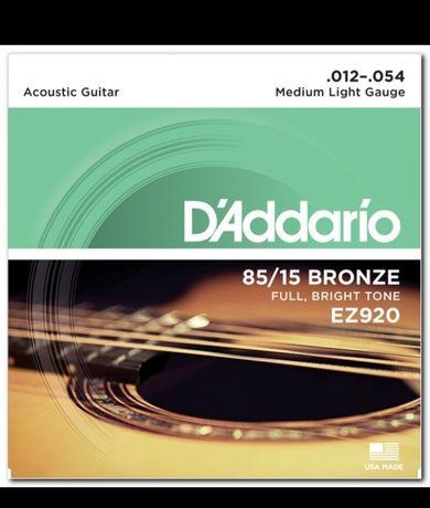 D'Addario струны bronze