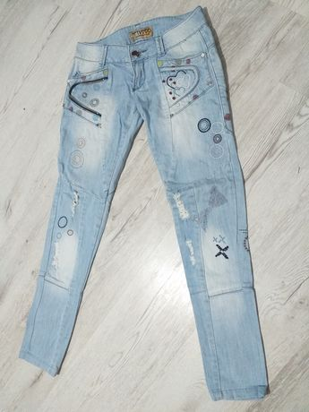 Cygaretki jeansy r. S