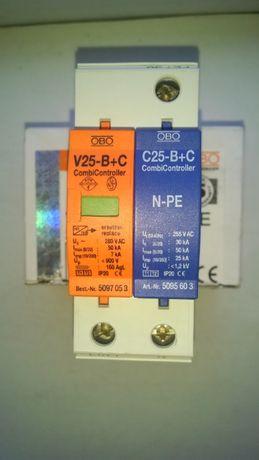 Ограничитель перенапряжений Тип I+II V25-B+C 1+NPE, OBO Bettermann Под
