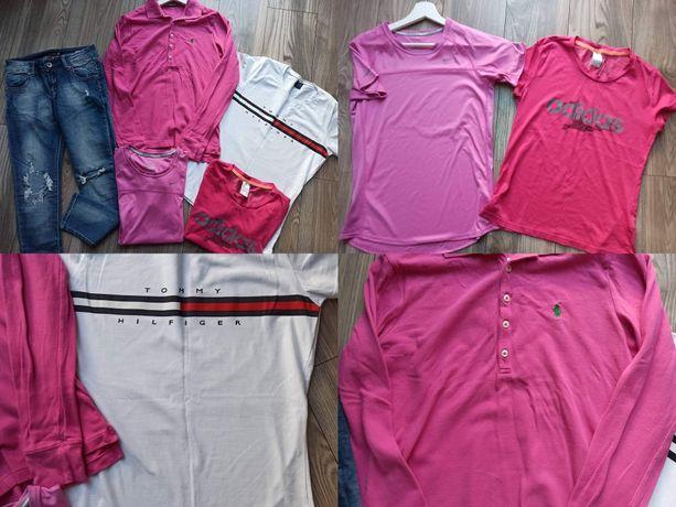 Luksusowa paka ubrań r.38 Ralph Laurent Tommy Hilfiger Adidas