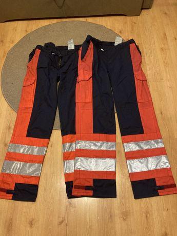Spodnie odblaskowe Niemieckie używane rozmiary 50,52,58