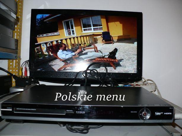 Philips DVDR3575 HDD HDMI Nagrywarka DVD do przegrywania kaset