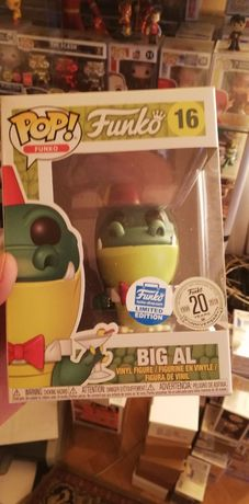 Figurka Funko Pop Spastik Plastik Big Al Funko Shop Exclusive