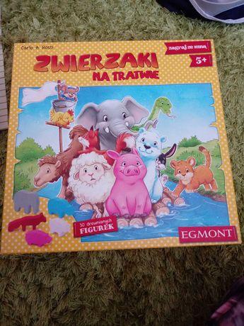 Gra dla dziecka Zwierzaki na Tratwie
