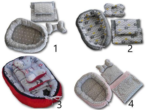 Kokon niemowlęcy , motylek , kocyk i poduszka