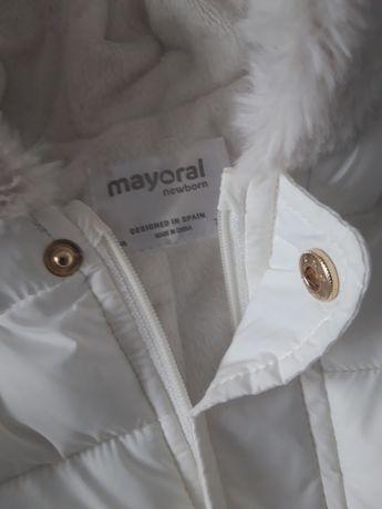 Kombinezon zimowy biel Mayoral r 74