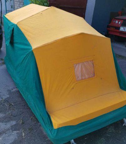 Автопалатка. Палатка на крышу автомобиля