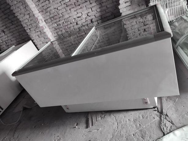Морозильный ларь бонета камера б/у от 600л, плоское стекло