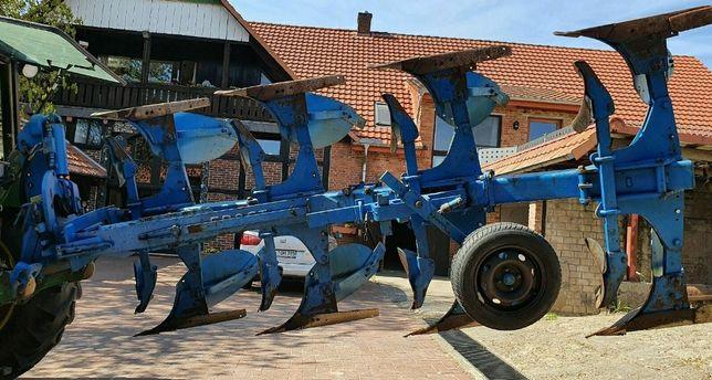 Pługi 4 obrotowe  (3+1) z Niemiec przedpurzki ścigacze gotowe do pracy